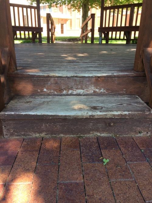 Worm Wood steps