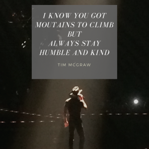 Tim McGraw on Stage